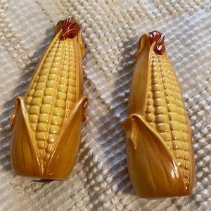 Vintage Japan Corn On Cob Salt and pepper shakers